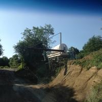 Potence de remplissage Dumper fait par l'exploitant - Lafarge - La gerbaudière (44)